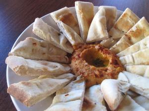 Besondere Anforderung: Geräucherte paprika-kicks hummus auf Yaquis auf Cherokee