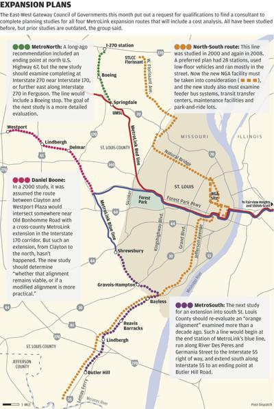 MetroLink Expansion plans