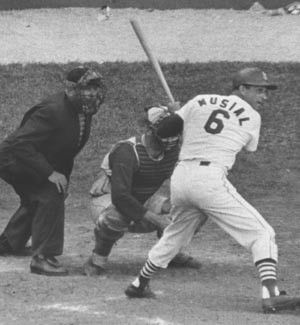 1963: Stan Musial's final at-bat