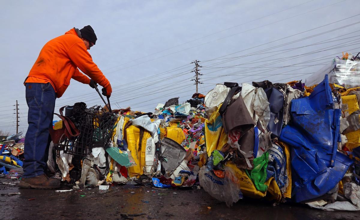 Local trio looks to convert plastic waste into railroad ties