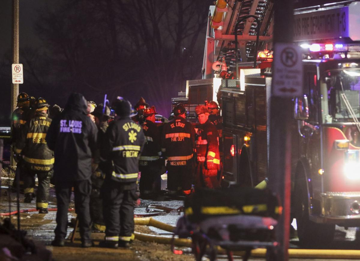 St. Louis firefighters find man dead inside burning vacant home
