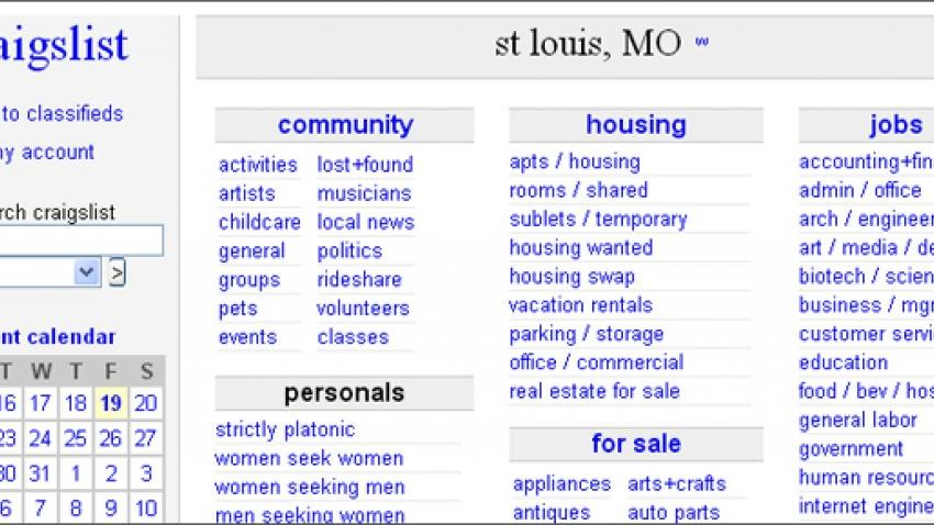 Craigslist Shuts Down Its Personals Section Business Stltoday Com
