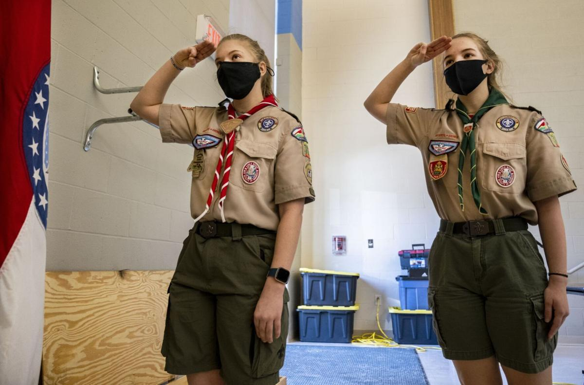 Brush sisters earn Eagle Scout rank