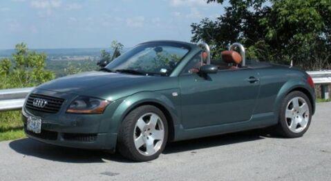 John Paulsen's car