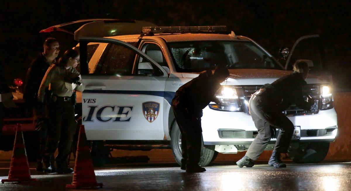 Officer shot on Interstate 44 in Webster Groves