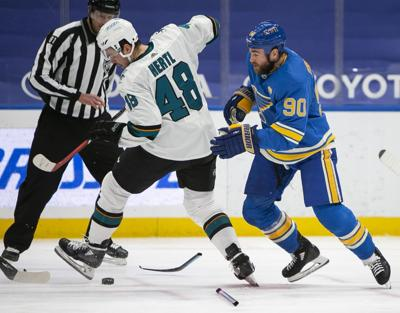 Blues versus Sharks