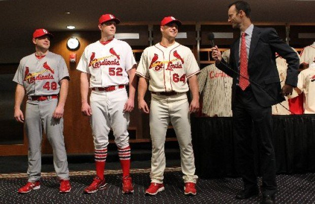 e6ac2f601722 When the Cardinals recently unveiled their new home alternate jersey and  announced some other uniform tweaks