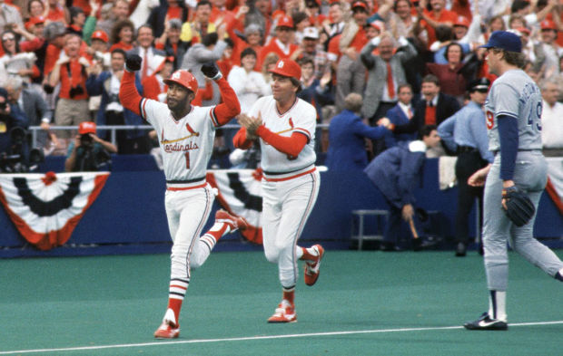 Ozzie Smith Game 5 1985 NLCS