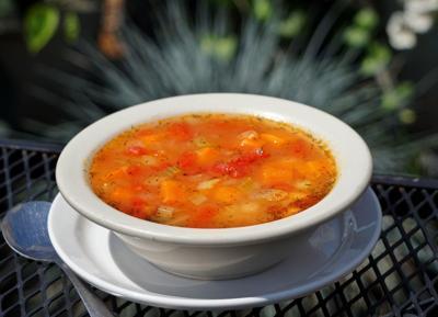 Greek style bean soup