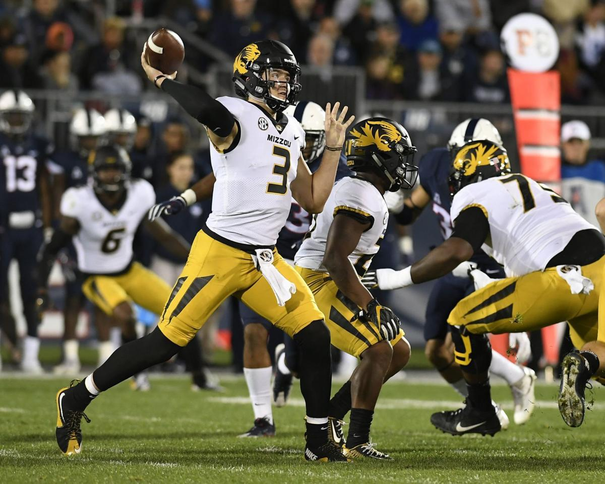 Lock passes Mizzou to rare road win at UConn   Eye on the ...