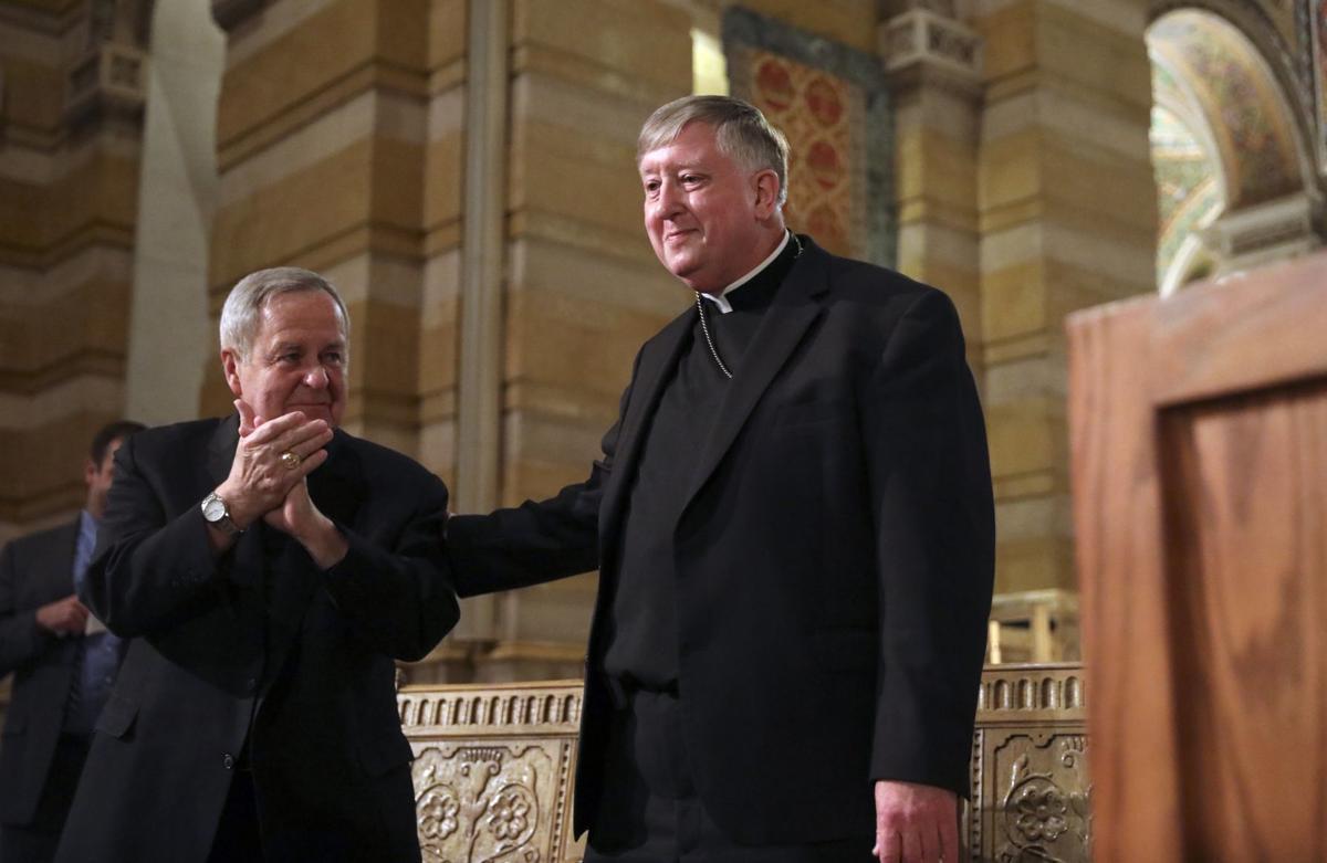 Bishop Mitchell Rozanski as the next archbishop of St. Louis