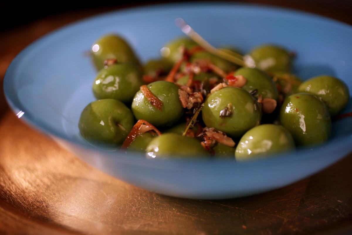 Keto friendly recipes - Citrus-marinated olives