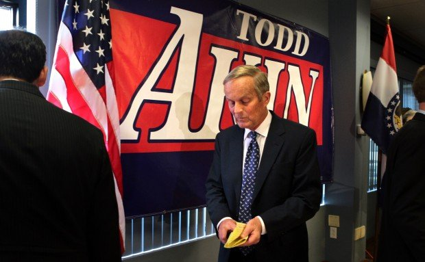 Akin stays in the race for Senate