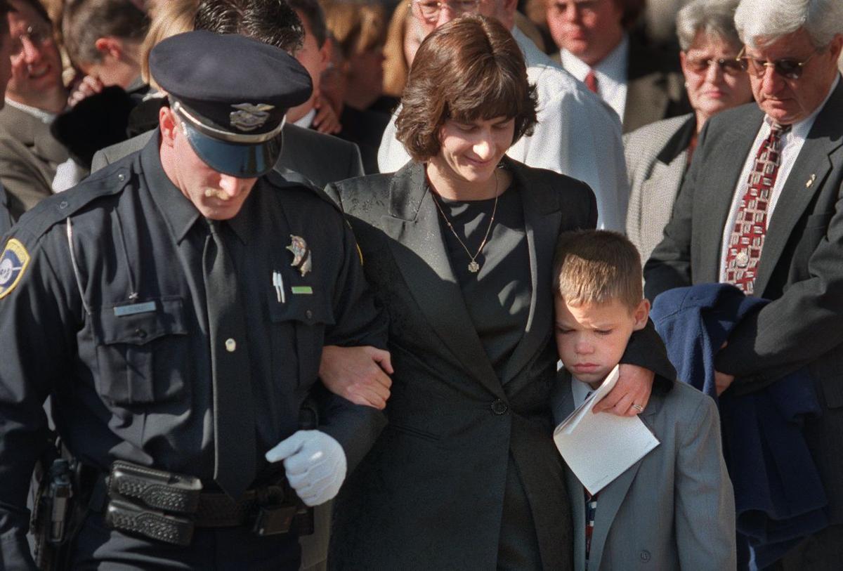 Community mourns slain officer