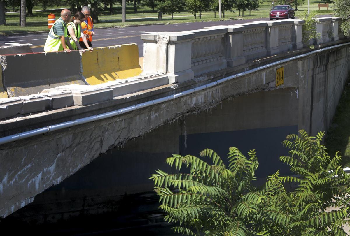 City of St. Louis engineers visit scene of fatal accident