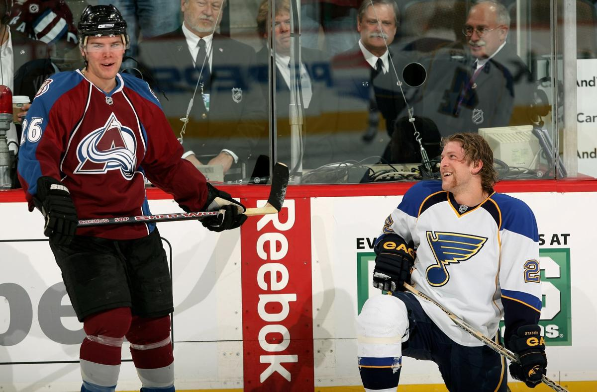 Blues Camp Will Be Family Affair For Stastnys St Louis Blues Stltoday Com