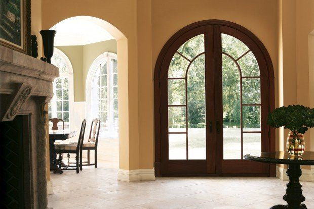 Arches Contemporary Glass New Trends In Front Doors