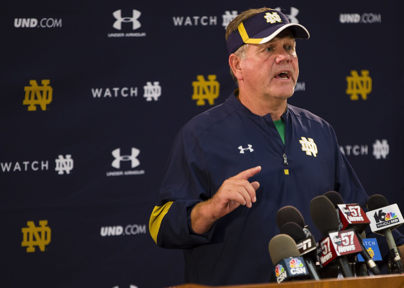 Brian Kelly: Everybody is fueled by what happened previous year