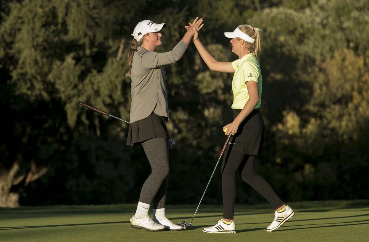 Class 2 girls golf state tournament, final round