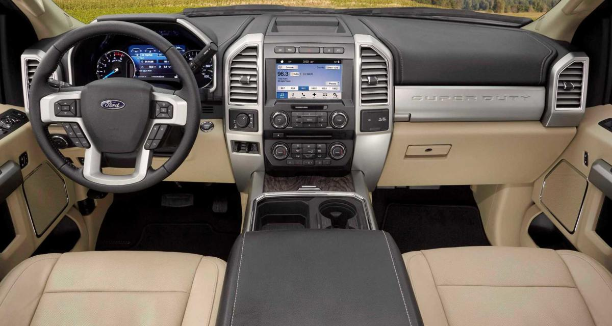 2018 Ford F 250 Super Duty And We Thought Our Platinum Trim Was Plush Automotive Stltoday