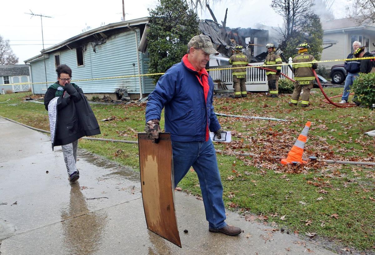 Highland, Il. fire kills two elderly residents