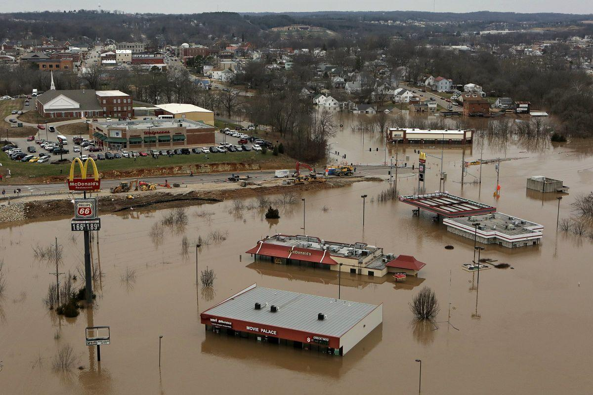 Flooding in Union, Mo.