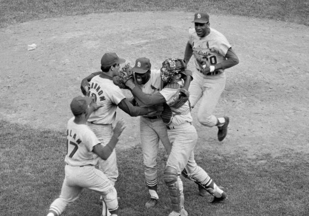 1967 World Series between Cardinals and Red Sox