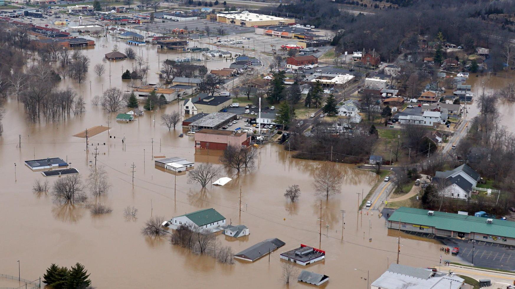 The New Year's Eve flood of 2015: Scenes we won't forget