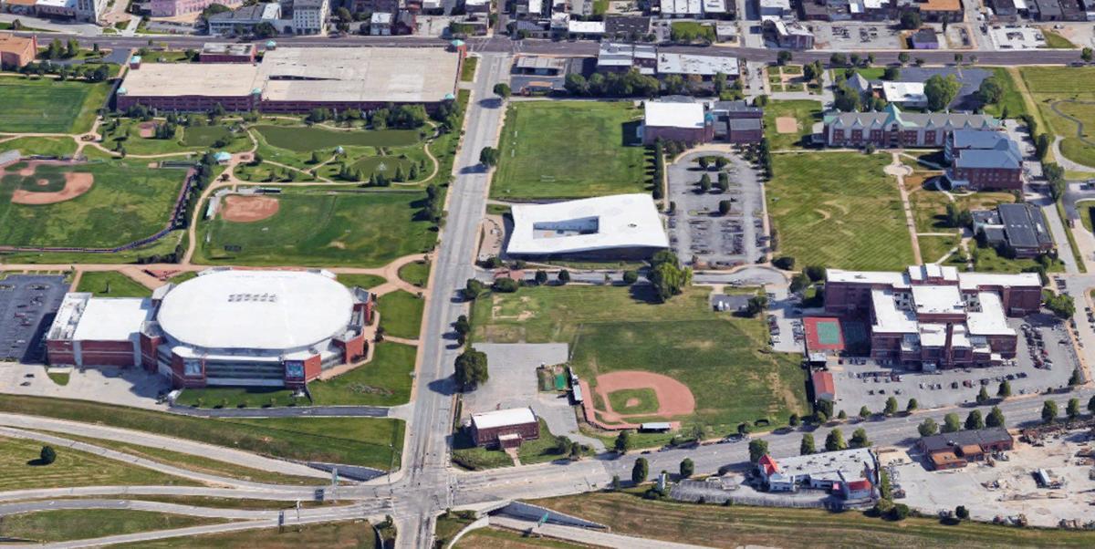 Site of Stars Park, the Negro National League baseball stadium
