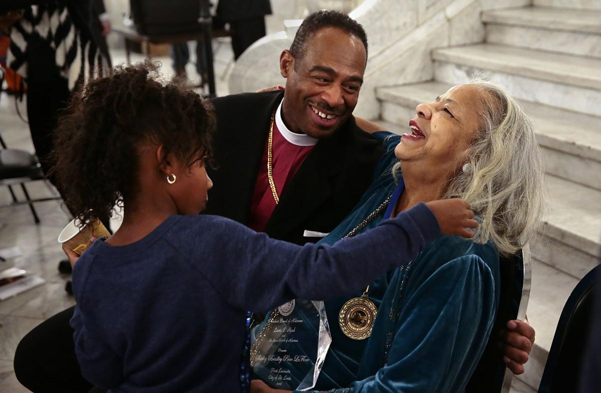 Shirley LeFlore named St. Louis' poet laureate