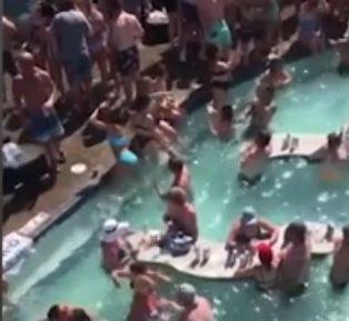 Ozarks pool party
