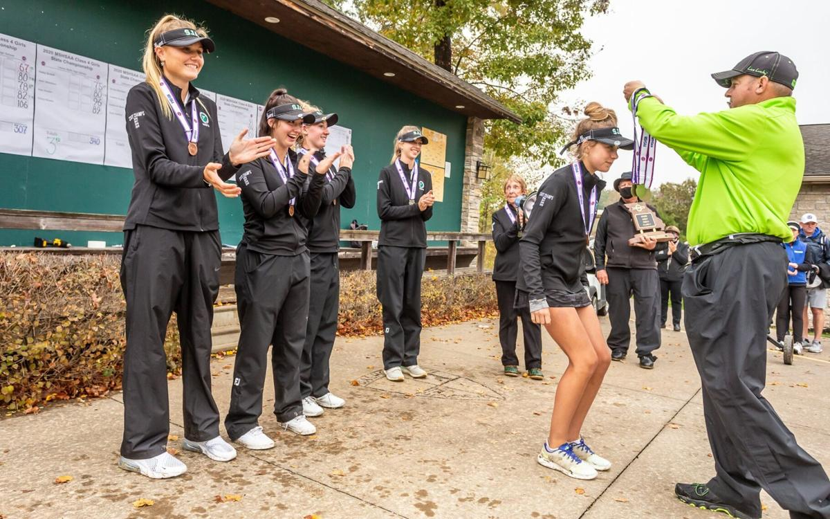 Missouri Class 4 girls golf state tournament, Day 2