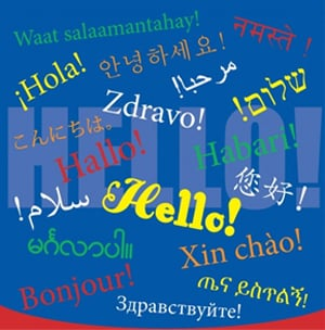 Hello offered in 17 languages on metro buses and trains metro bus poster m4hsunfo