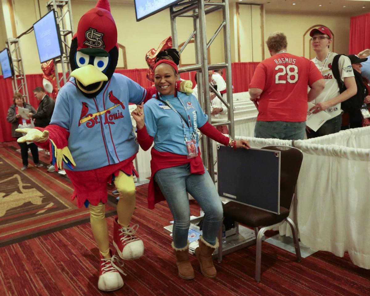 Photos: Saturday at Cardinals Care Winter Warm-Up