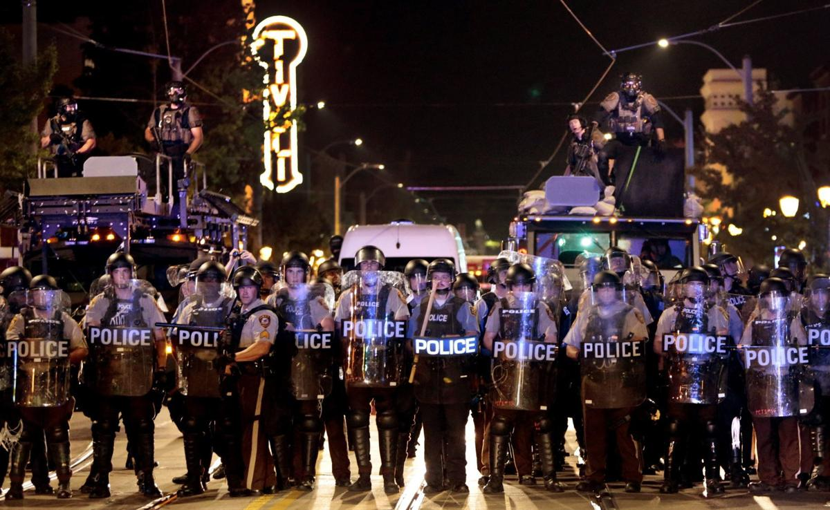 Undercover St  Louis cop says colleagues beat him 'like Rodney King
