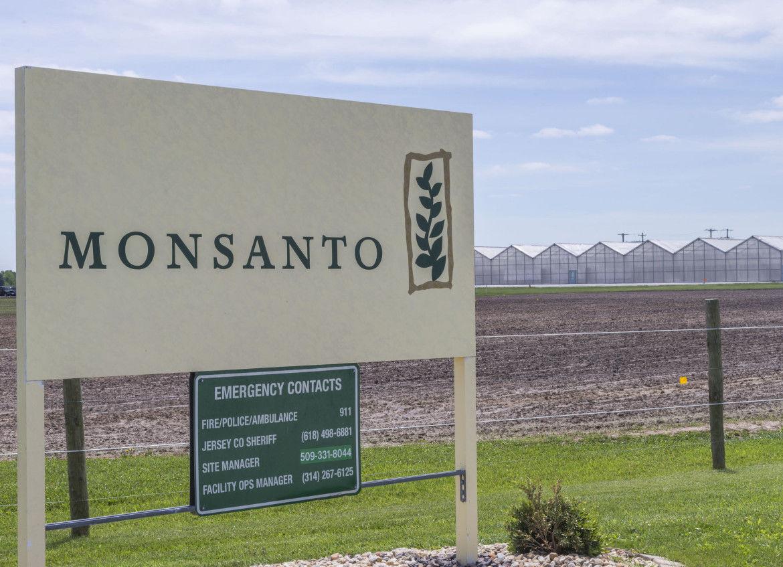 Monsanto facility in Jerseyville