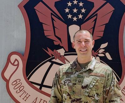 Honored Airman: Air National Guard intelligence expert is a candidate for Air Force top 12