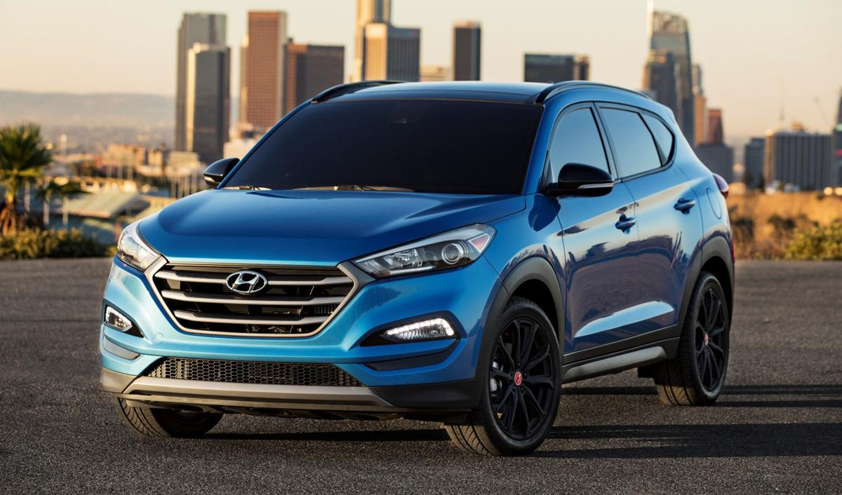 2018 hyundai tucson compact crossover is a kick on route 66 automotive. Black Bedroom Furniture Sets. Home Design Ideas