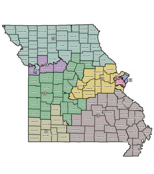 Us Representative Missouri District Map Judge to dismiss lawsuit challenging Missouri congressional