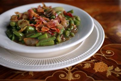 German Style Green Beans at Lemp Mansion