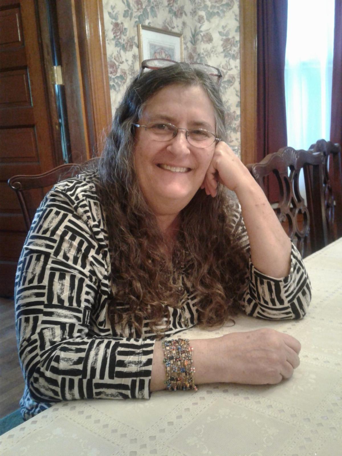 Jane Ellen Ibur, St. Louis poet laureate, at her home