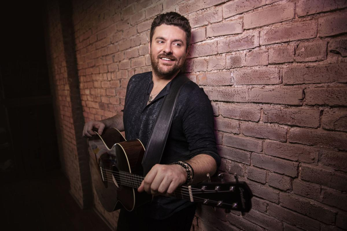Country's Chris Young brings his own heat to first headliner show in St. Louis