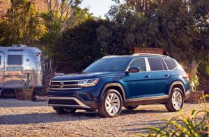 2021 Volkswagen Atlas: It turned out to be a witch's broom that seated seven comfortably.