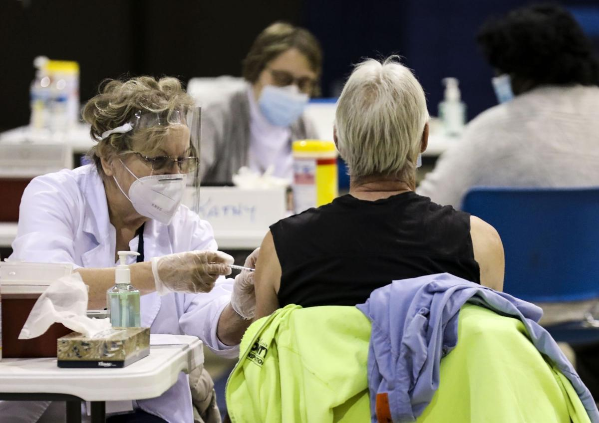 County prepares mass vaccination site