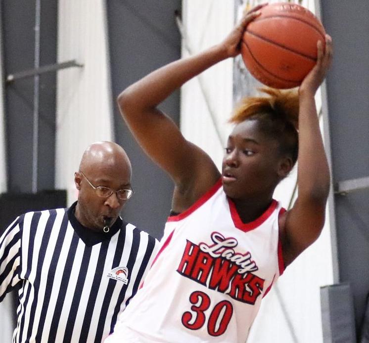 Jennings vs. Lift for Life girls basketball