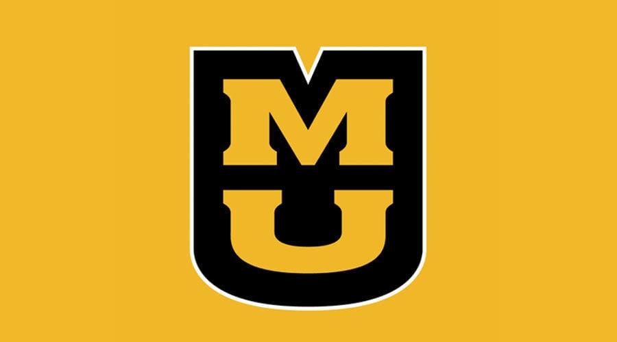 MU's logo creates a mule-head-shape