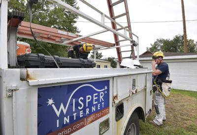 Wisper Internet brings high-speed internet to rural areas
