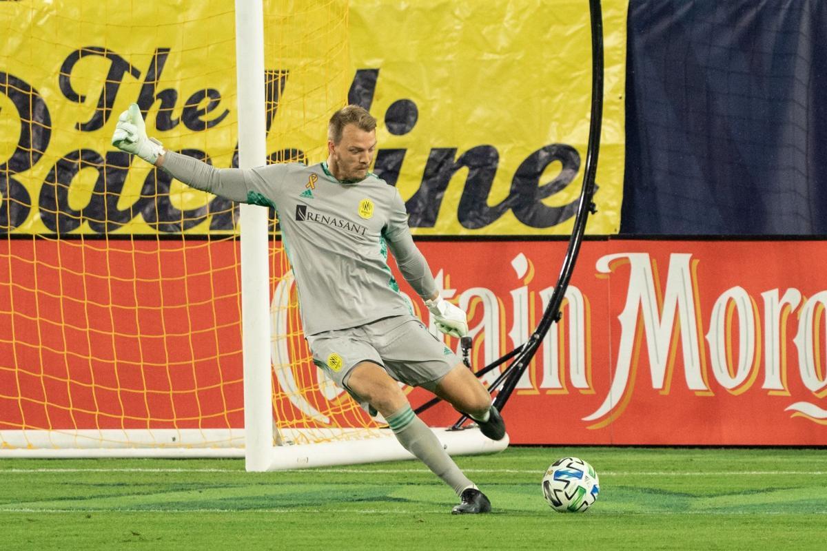 Joe Willis, Nashville goalkeeper
