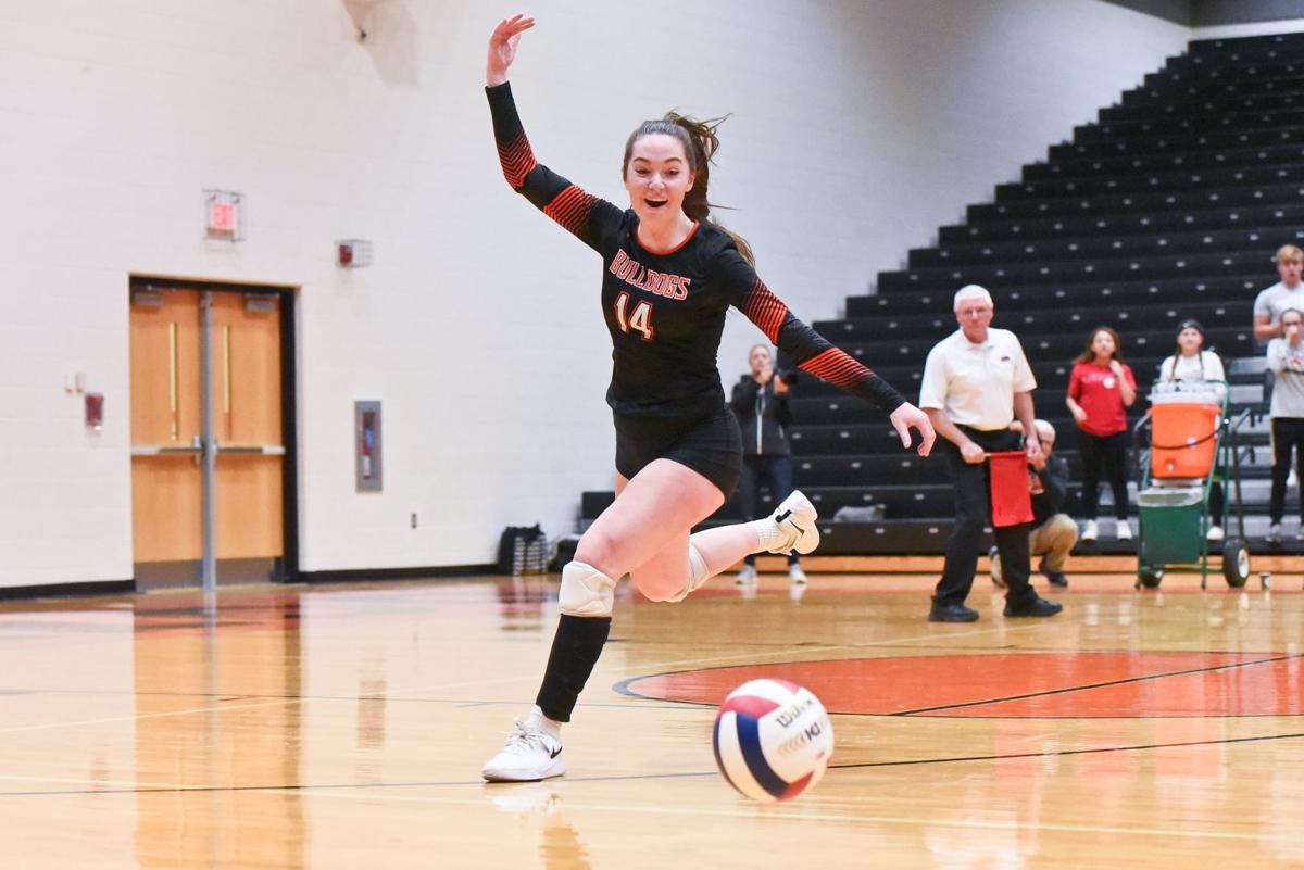 11/06/19 - Girls Volleyball - Illinois Sectional Final -Centralia vs Waterloo