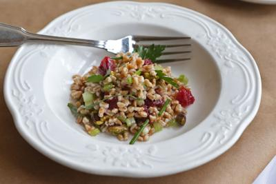 Ancient grain salad highlighted at the Brasserie